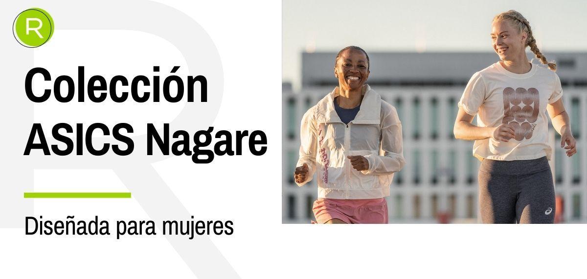 Así es la nueva colección Nagare de ASICS: diseñada por y para las mujeres