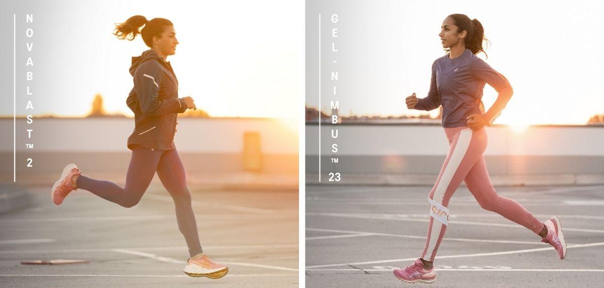 Así es la nueva colección Nagare de ASICS: diseñada por y para las mujeres, zapatillas de running