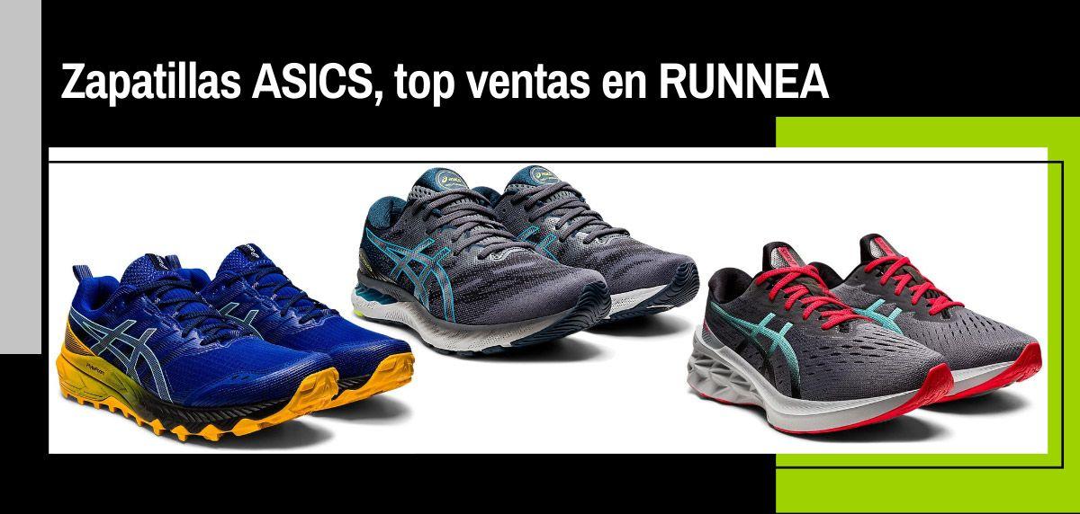 ¿Sabes cuáles son las zapatillas de ASICS más buscadas en RUNNEA? ¡Alguna de ellas te sorprenderá!
