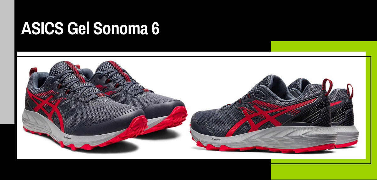 Zapatillas trail running de ASICS con más tirón en RUNNEA - ASICS Gel Sonoma 6