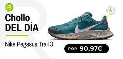 Chollo del día: ¡Nike Pegasus Trail 3 por 90,97€!