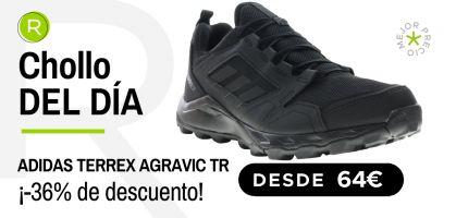 Chollo del día: ¡adidas Terrex Agravic TR desde 64€ con -36% de descuento!