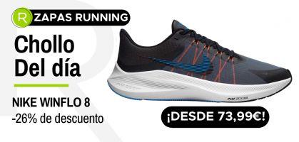Chollo del día: ¡Nike Winflo 8 desde 73,99€ con -26% de descuento!