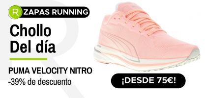 Chollo del día: ¡Puma Velocity Nitro desde 75€ con -39% de descuento!