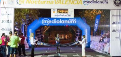 Emmanuel Moi y Joice Chempkemoi ganan la 15K Nocturna Valencia 2021 con mejor marca del año incluida