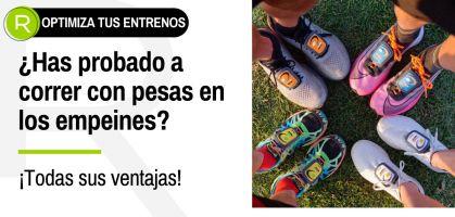 ¿Correr con pesas ligeras de empeine en tus zapatillas de running? ¡Descubre cómo optimizar tu potencia y técnica de carrera!