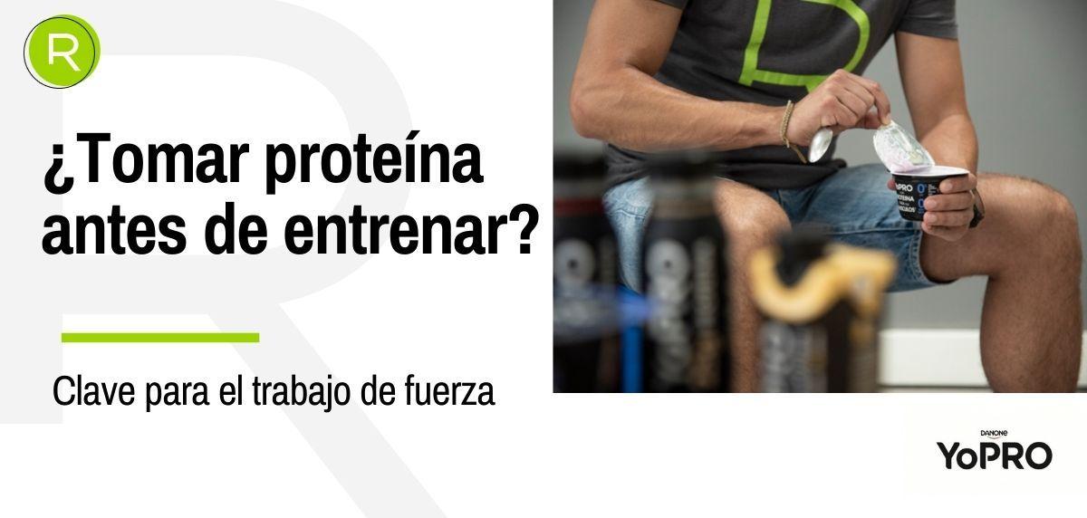 ¿Es bueno tomar proteína antes de correr?