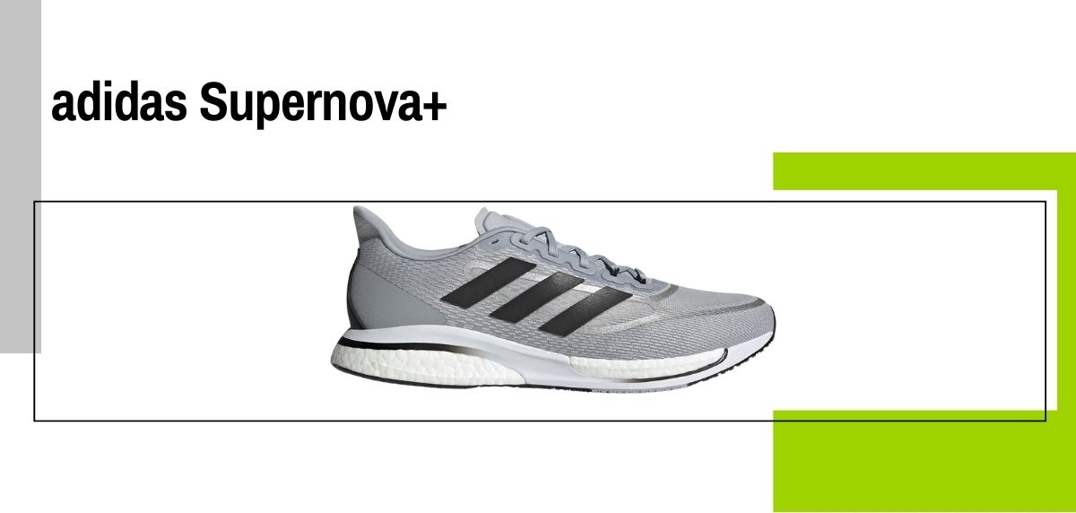 Las 14 mejores zapatillas para caminar con amortiguación, adidas Supernova +