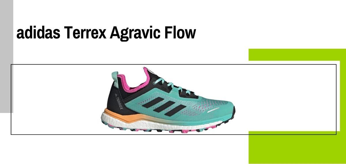 Las 14 mejores zapatillas para caminar con amortiguación, adidas Terrex Agravic Flow
