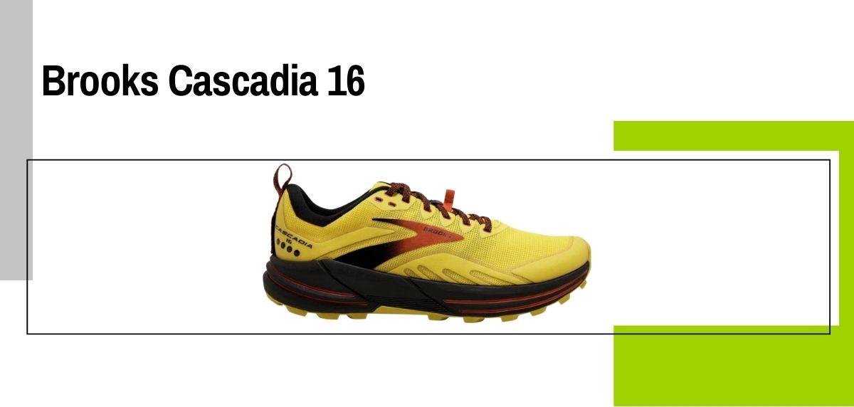 Las 14 mejores zapatillas para caminar con amortiguación, Brooks Cascadia 16