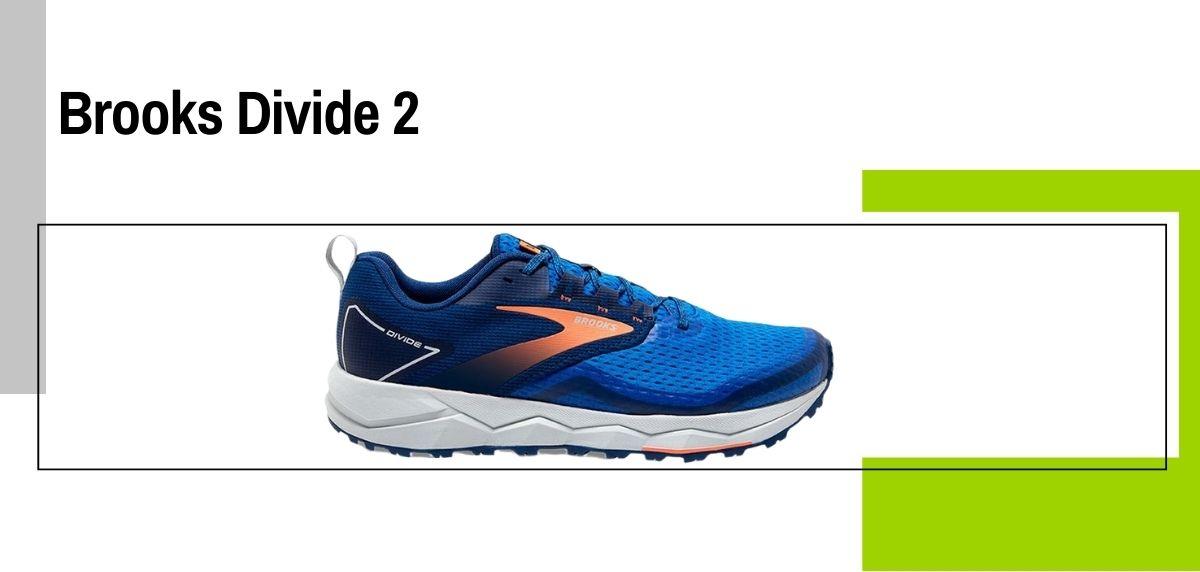 Las 14 mejores zapatillas para caminar con amortiguación, Brooks Divide 2