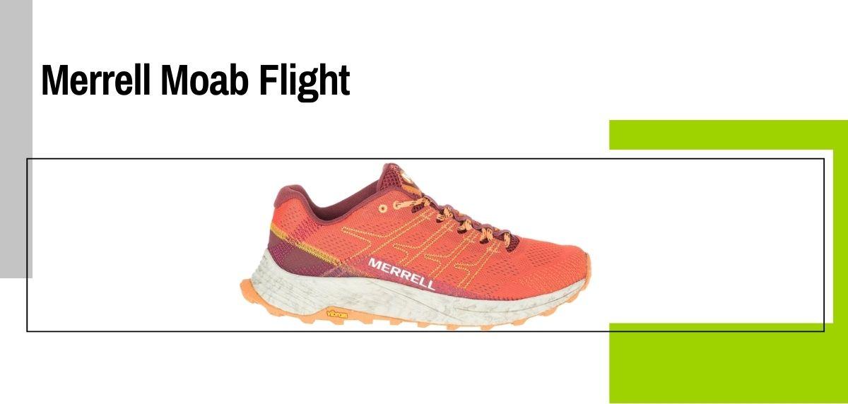Las 14 mejores zapatillas para caminar con amortiguación, Merrell Moab Flight