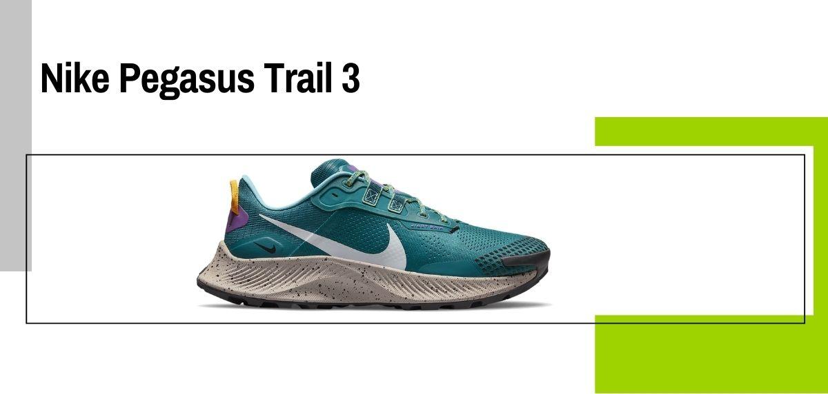 Las 14 mejores zapatillas para caminar con amortiguación, Nike Pegasus Trail 3