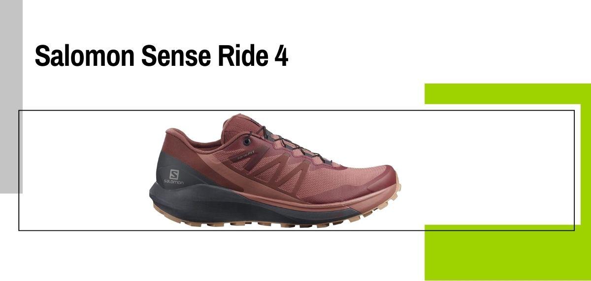 Las 14 mejores zapatillas para caminar con amortiguación, Salomon Sense Ride 4