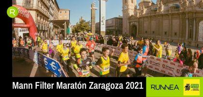 ¡Últimos días para apuntarte al Mann Filter Maratón Zaragoza 2021 al mejor precio!