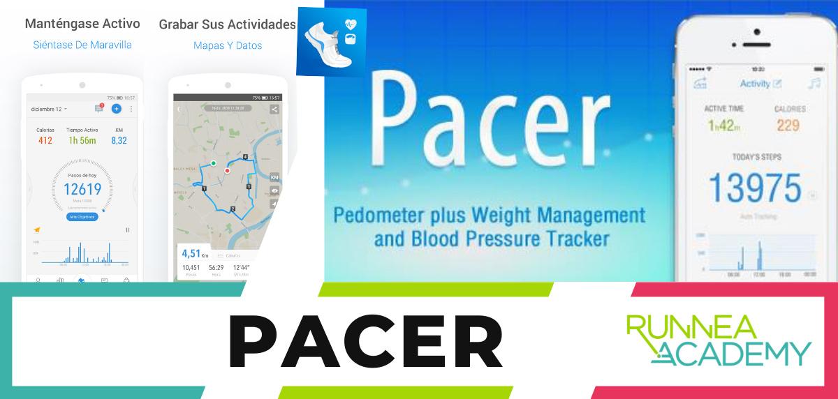 Mejores aplicaciones para correr android - Pacer