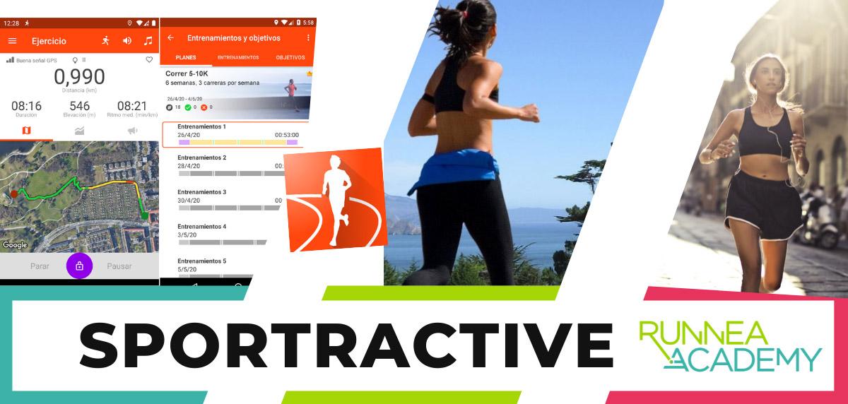 Mejores aplicaciones para correr android - Sportractive
