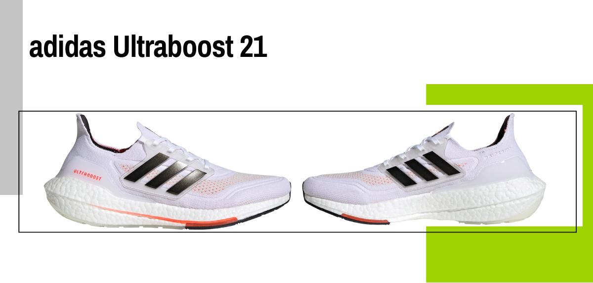 Mejores zapatillas running para correr con sobrepeso - adidas Ultraboost 21