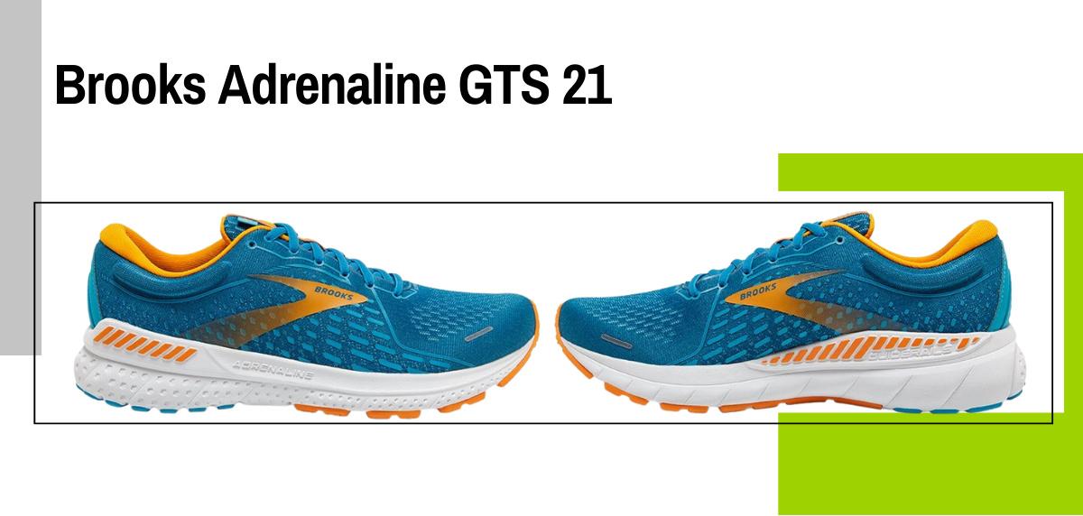 Mejores zapatillas para correr con sobrepeso - Brooks Adrenaline GTS 21