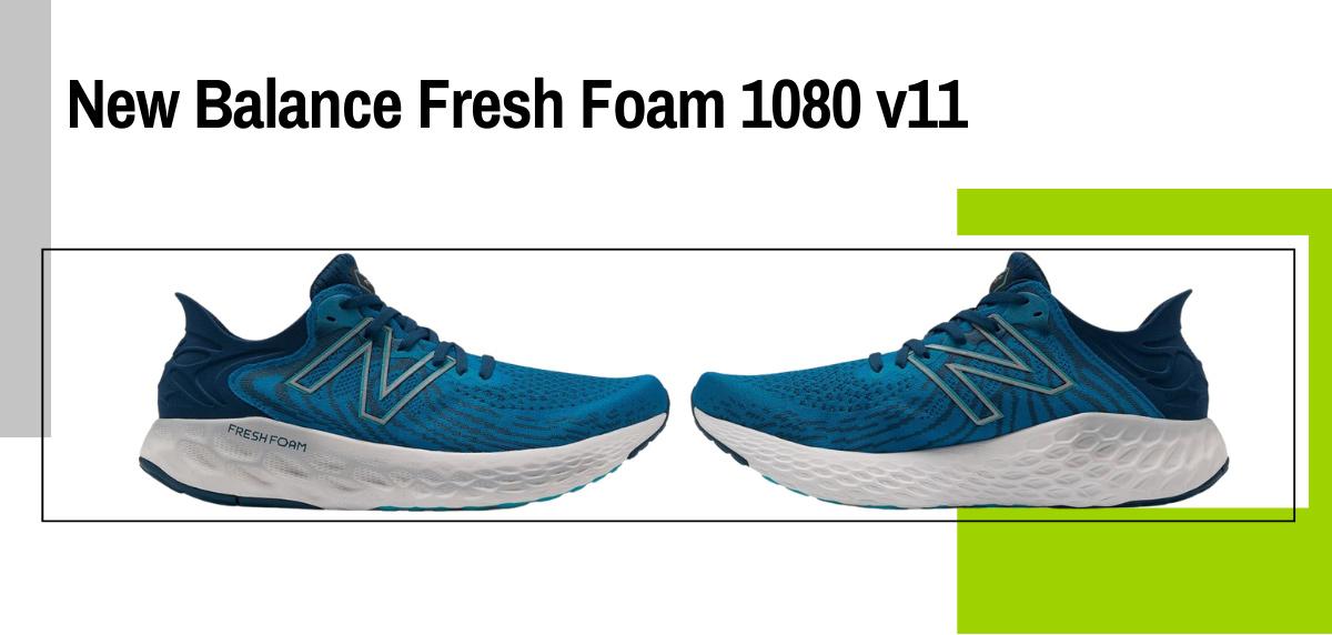 Mejores zapatillas running para correr con sobrepeso - New Balance Fresh Foam 1080 v11