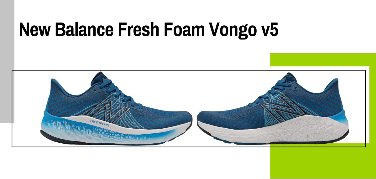 Mejores zapatillas running para correr con sobrepeso - New Balance Fresh Foam Vongo v5