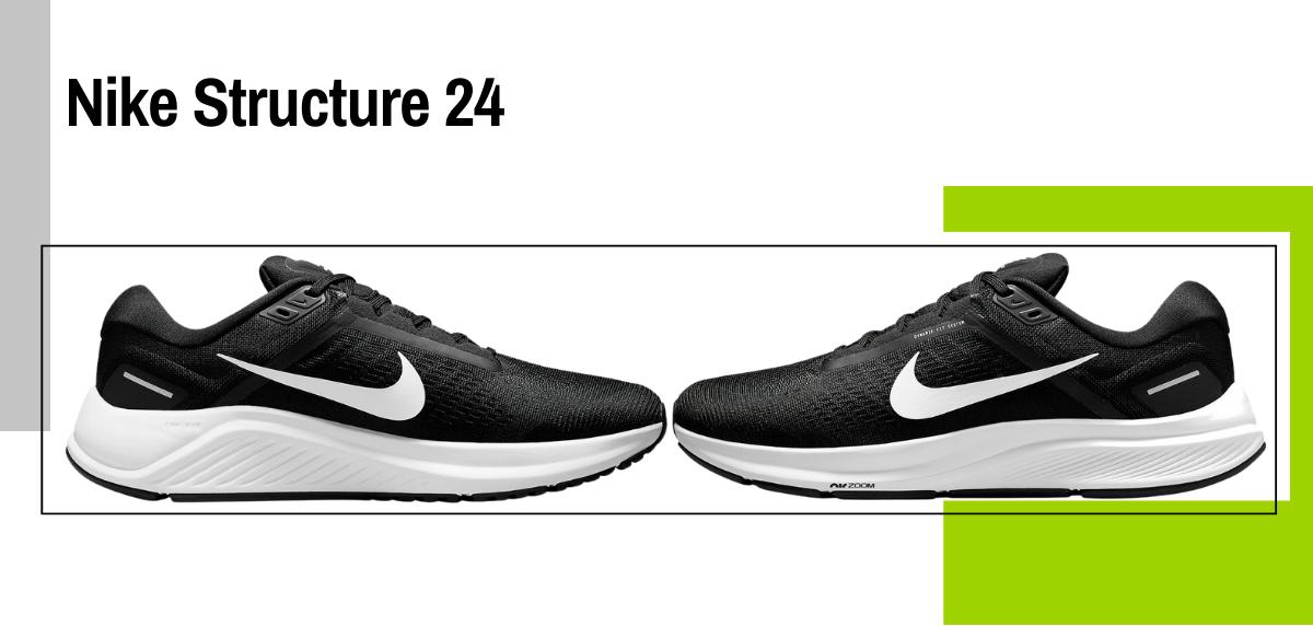 Mejores zapatillas running para correr con sobrepeso - Nike Structure 24