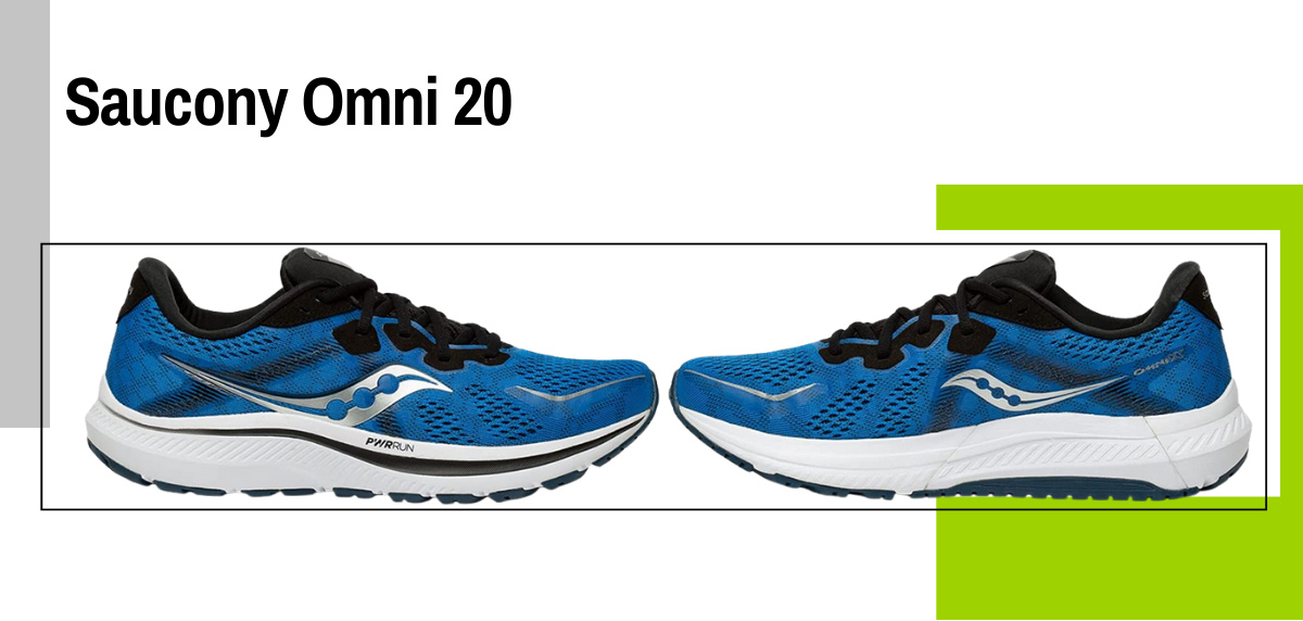 Mejores zapatillas running para correr con sobrepeso - Saucony Omni 20