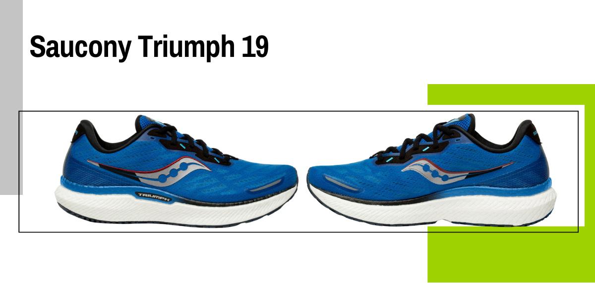 Mejores zapatillas running para correr con sobrepeso - Saucony Triumph 19