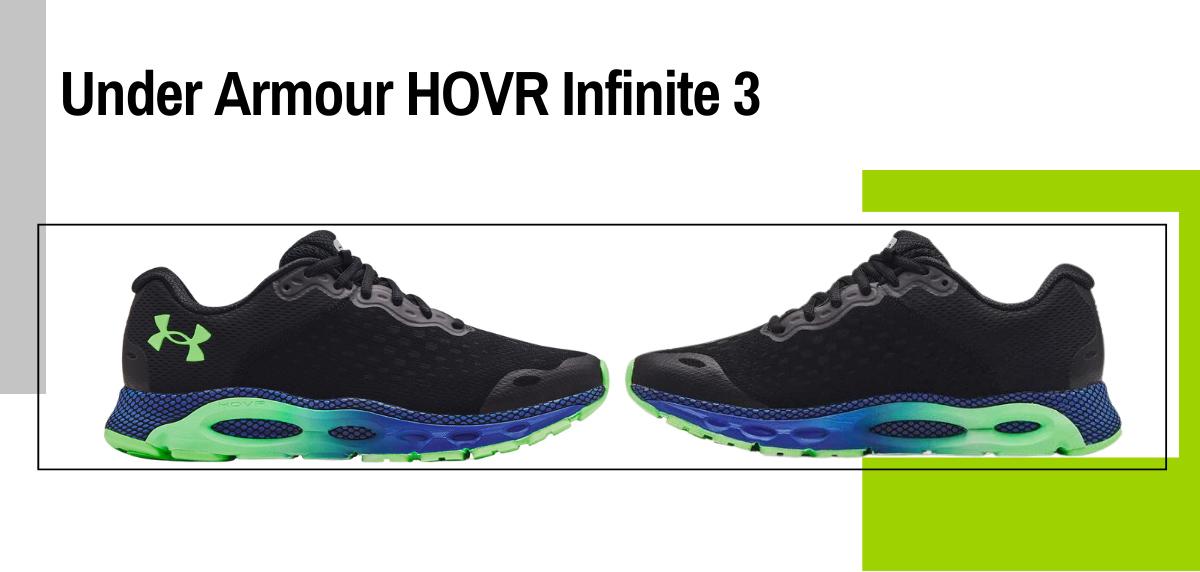 Mejores zapatillas para correr con sobrepeso - Under Armour HOVR Infinite 3