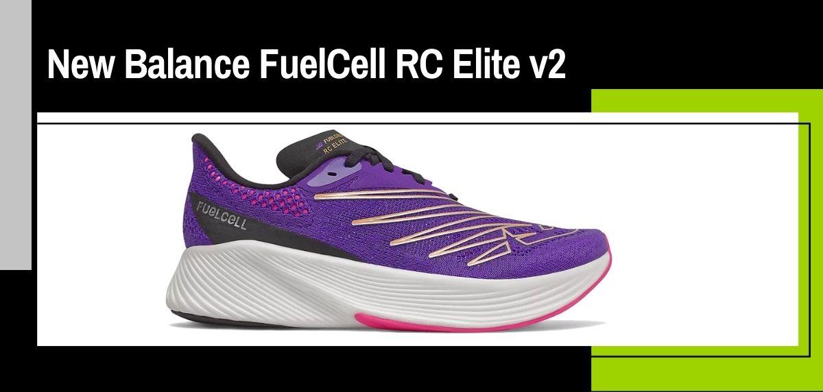 Las mejores zapatillas running 2021, New Balance FuelCell RC Elite v2