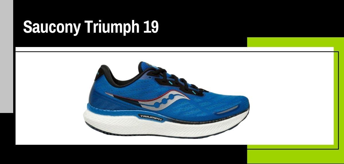 Las mejores zapatillas running 2021, Saucony Triumph 19