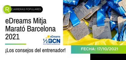 Consejos deportivos para ser finisher de la EDreams Mitja Marató de Barcelona