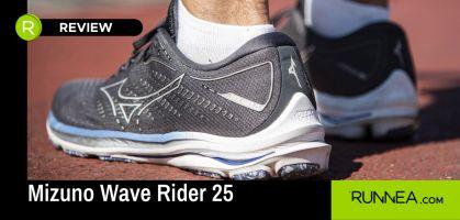 ¡Analizamos las Mizuno Wave Rider 25: mucho y bueno, pero también con oportunidades de mejora