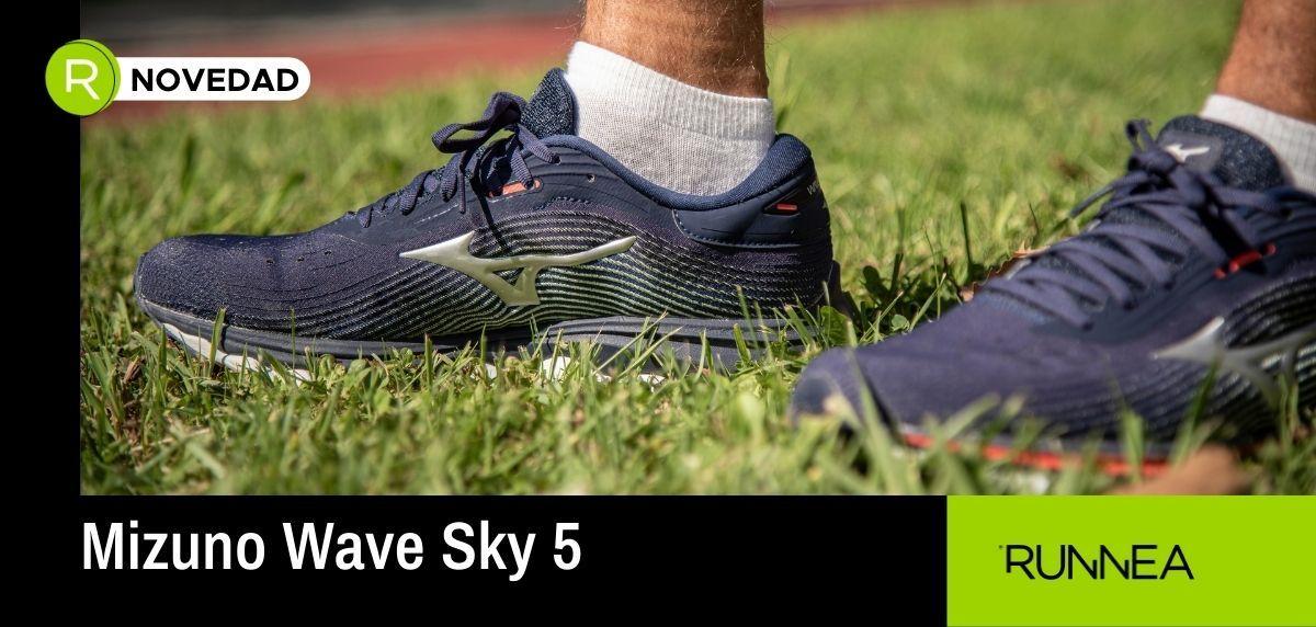Mizuno Wave Sky 5, todo lo que necesitas saber de esta zapatilla de entrenamiento
