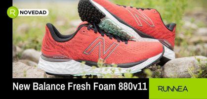 La zapatilla para todos los corredores: New Balance Fresh Foam 880v11