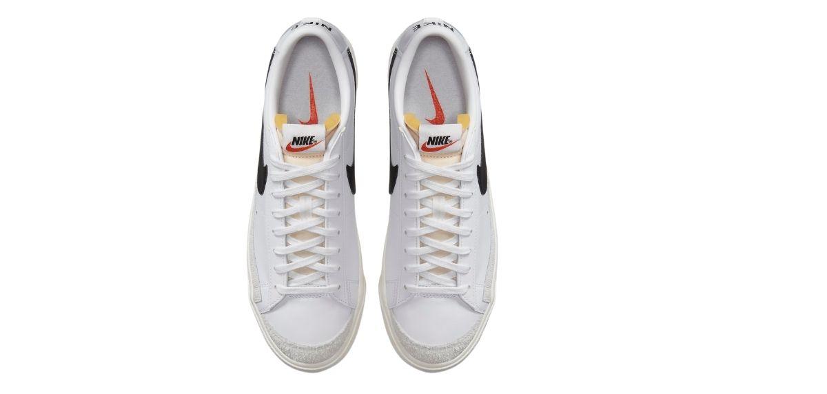 Nike Blazer Low '77, upper