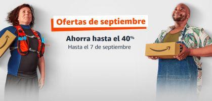 Ofertas de Amazon con hasta 40% de descuento en septiembre 2021