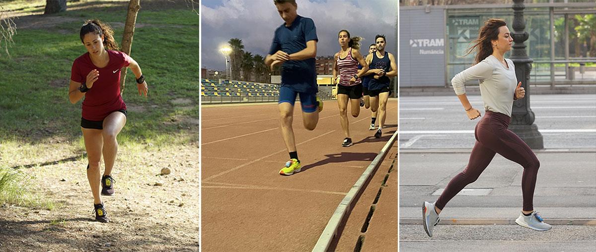 ¿En qué tipo de entrenamientos deben usarse las pesas de correr en los empeines? - tiradas largas