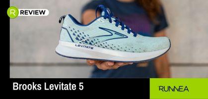 Testamos las nuevas Brooks Levitate 5, ahora más ligeras, cómodas y reactivas