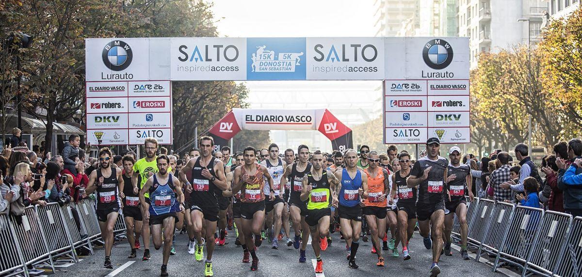 15K Donostia San Sebastián 2021 : directo y clasificación