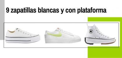 Las 9 zapatillas blancas y con plataforma que arrasan en ventas