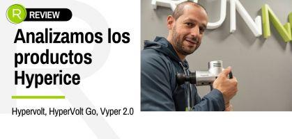 Analizamos los productos Hyperice: Hypervolt, Hypervolt Go, Vyper 2.0