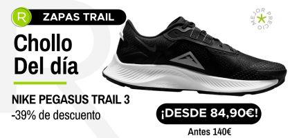 Chollo del día: ¡Nike Pegasus Trail 3 desde 84,90€ con un -39% de descuento!