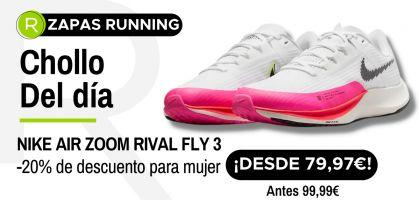 Chollo del día: ¡Nike Air Zoom Rival Fly 3 para mujer desde 79,97€ con un -20% de descuento!