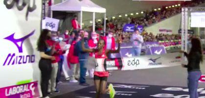 Ednah Mukhwana bate el récord del Bilbao Night Marathon