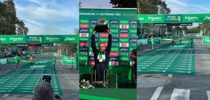 Elisha Rotich rompe el record de la maratón de París 2021