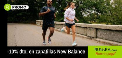 -10% de dto. en zapatillas running de New Balance ¡sólo en Running ZGZ!