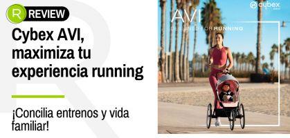 ¡Revoluciona tu experiencia running con los más peques de la casa, descubre el carrito deportivo Cybex AVI!