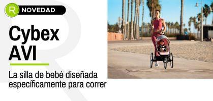 Cybex AVI, la silla de bebé diseñada específicamente para correr