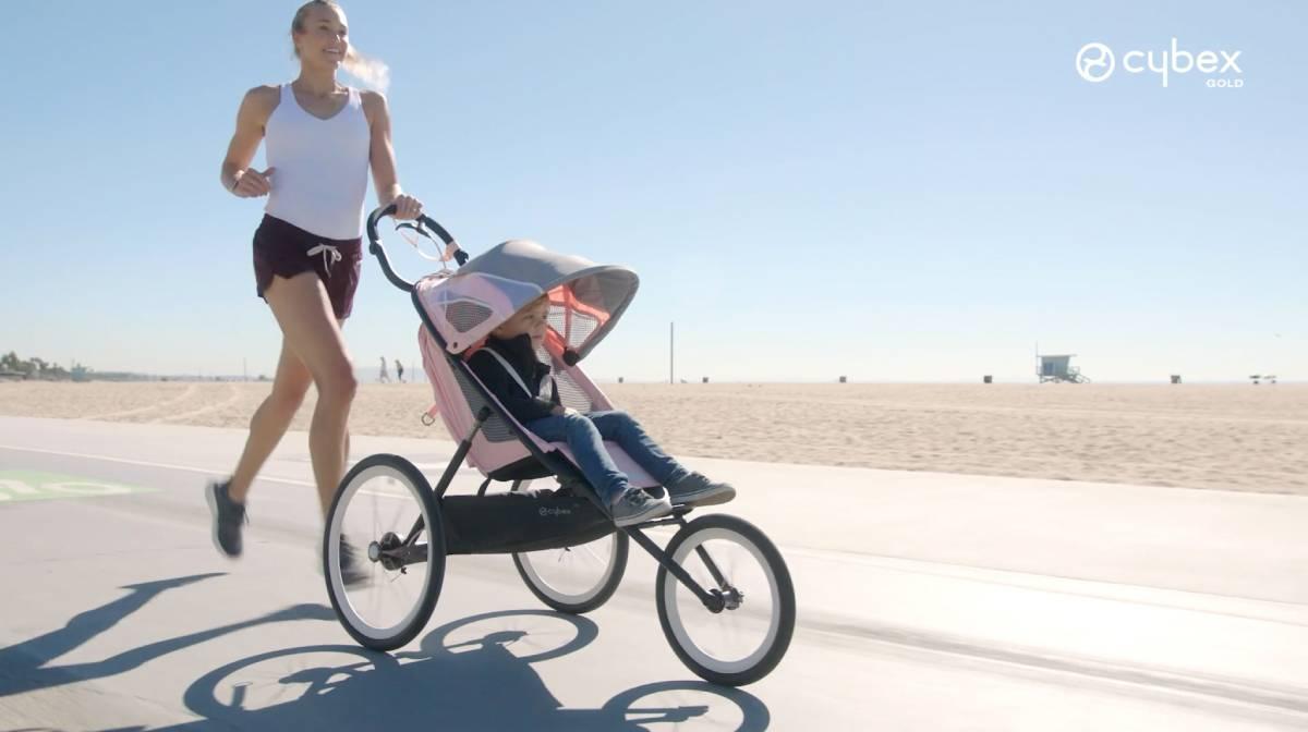 Cybex AVI, la silla de bebé diseñada específicamente para correr. Características.